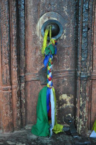 Doorway to Wanla Gompa